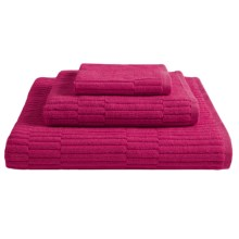 "Chortex Oxford Washcloth - 13x13"" in Cerise - Closeouts"