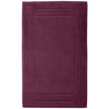 "Chortex Rhapsody Royale Bath Mat -  Cotton, 22x36"" in Aubergine - Closeouts"