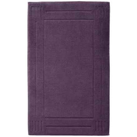 "Chortex Rhapsody Royale Bath Mat -  Cotton, 22x36"" in Violet - Closeouts"