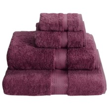 Chortex Rhapsody Royale Washcloth - 660gsm Egyptian Cotton in Aubergine - Closeouts