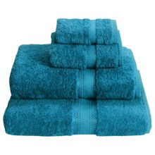 Chortex Rhapsody Royale Washcloth - 660gsm Egyptian Cotton in Deep Teal - Closeouts
