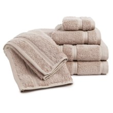 Chortex Royalty Towel Set - 6-Piece in Flax - Overstock
