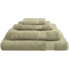 Chortex Savannah Hand Towel - Long-Staple Cotton in Green - Closeouts