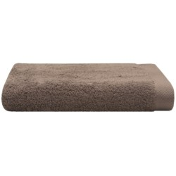 Chortex Self Ridges Hand Towel - Zero-Twist Cotton, 600gsm in Taupe