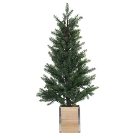 Image of Christmas Tree in Wood Box - 4?