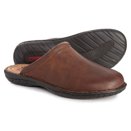 Image of Christoph 96 Mule Shoes - Leather (For Men)