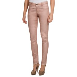Christopher Blue Ava Stretch Jegging Pants - Metallic Finish (For Women) in Champagne