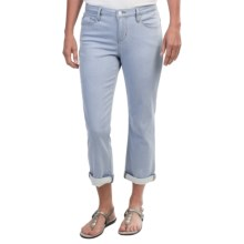 Christopher Blue Brooklyn Valencia Crop Pants - Skinny (For Women) in Van Vanilla - Closeouts