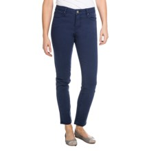 Christopher Blue Isabel Gab 72 Pants - Stretch Twill, Ankle Cut, Slim Fit (For Women) in Marine - Closeouts
