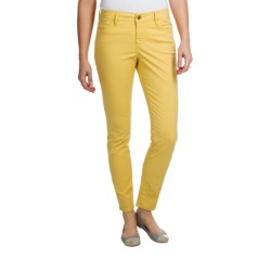Christopher Blue Isabel Island Pants - Ankle Cut, Stretch Twill (For Women) in Gull Foot