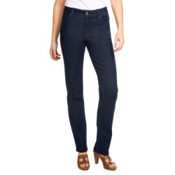 Christopher Blue Joanie Jeans - Stretch Denim, Straight Leg (For Women) in Balsa Blue Wash