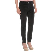 Christopher Blue Kristin Velveteen Ankle Pants (For Women) in Black - Closeouts
