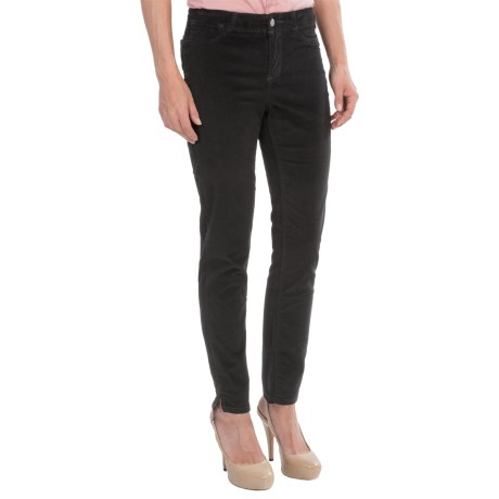 Christopher Blue Kristin Velveteen Ankle Pants (For Women)
