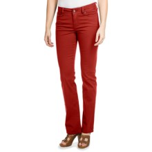 Christopher Blue Lance Gab 72 Pants - Stretch Twill, Bootcut (For Women) in Lava - Closeouts