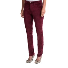Christopher Blue Maggie Skinny Velveteen Pants (For Women) in Wine - Closeouts