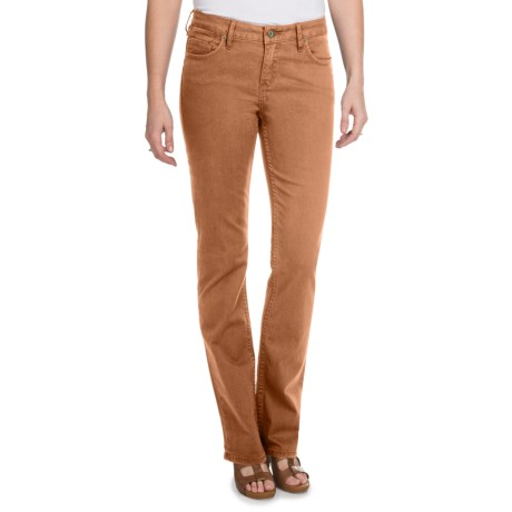 Christopher Blue Natalie Gab 72 Pants - Stretch Twill, Bootcut (For Women) in Saddle Brown