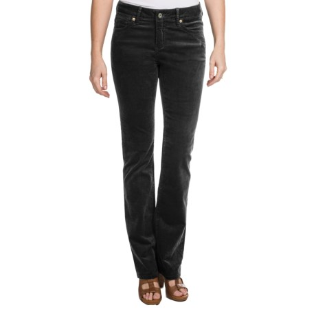 Christopher Blue Natalie Pants - Stretch Corduroy, Bootcut (For Women) in Black