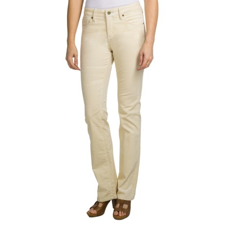 Christopher Blue Natalie Pants - Stretch Corduroy, Bootcut (For Women) in Juniper