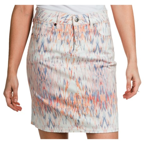 Christopher Blue Nolina Skirt (For Women) in White Ikat