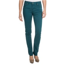 Christopher Blue Sophia Gab 72 Pants - Stretch Twill, Skinny (For Women) in Evening Forest - Closeouts
