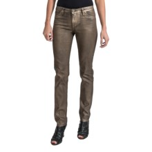 Christopher Blue Sophia Jeans - Stretch Denim, Skinny Leg (For Women) in Gold Wash - Closeouts