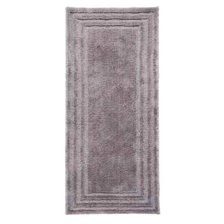 "Christy Aerofil® Bath Rug - 25x60"" in Grey Shadow - Closeouts"