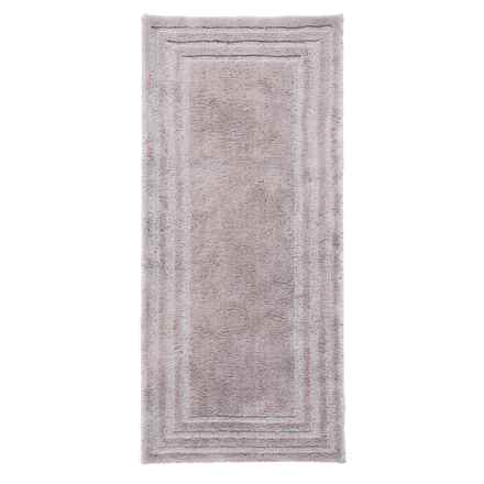 "Christy Aerofil® Bath Rug - 25x60"" in Pewter - Closeouts"