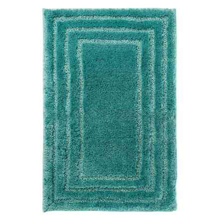 "Christy Aerofil® Race Track Bath Rug - 17x25"" in Teal - Closeouts"