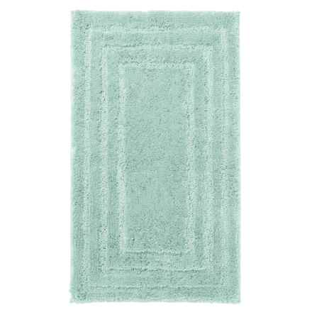 "Christy Aerofil® Race Track Bath Rug - 19x34"" in Mint Ash - Closeouts"