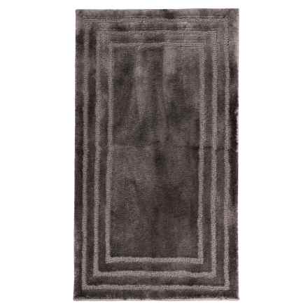 "Christy Aerofil® Race Track Bath Rug - 25x45"" in Grey Shadow - Closeouts"