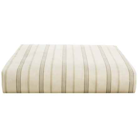 Christy Bloomsbury Cotton Sateen Fitted Sheet - King, 300 TC in Linen - Closeouts