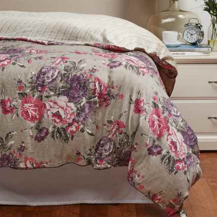 Christy Bloomsbury Duvet Cover - Queen in Plum - Closeouts