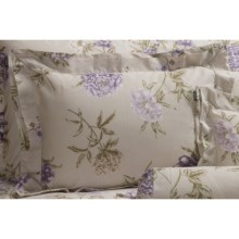 Christy Botanical Garden Pillow Sham - King, 300 TC Cotton in Botanical Garden - Closeouts