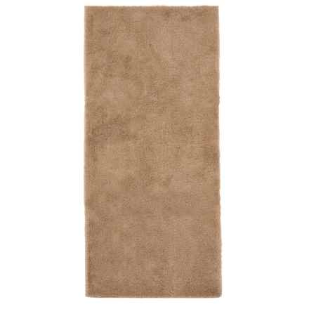 "Christy Drylon® Bath Rug - 25x60"" in Tan - Closeouts"