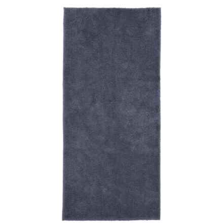 "Christy Drylon® Bath Rug - 25x60"" in Xavier Navy - Closeouts"