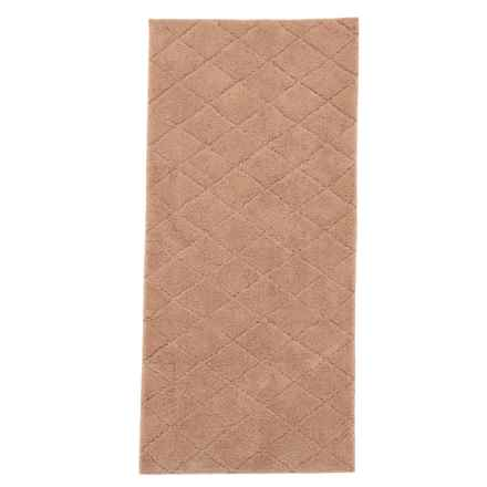 "Christy Drylon® Diamond Bath Rug - 25x60"" in Linen - Closeouts"
