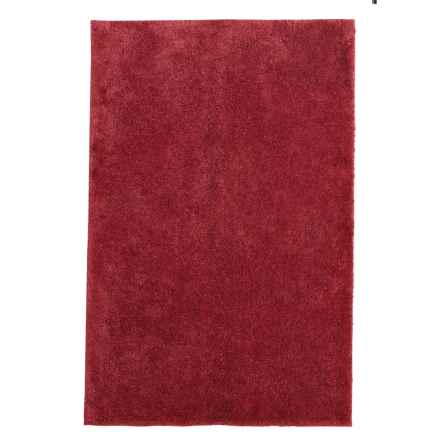 "Christy Drylon® Microfiber Bath Rug - 25.5x45"" in Red Sadova - Closeouts"