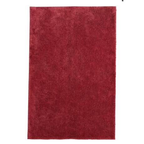"Christy Drylon® Microfiber Bath Rug - 25.5x45"" in Red Sadova"