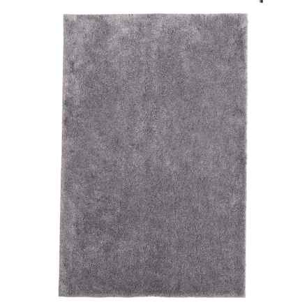 "Christy Drylon® Microfiber Bath Rug - 25.5x45"" in Steel - Closeouts"