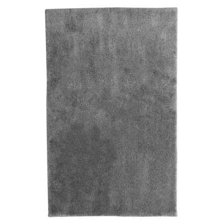 "Christy Drylon® Microfiber Bath Rug - 25x45"" in Elephant - Closeouts"