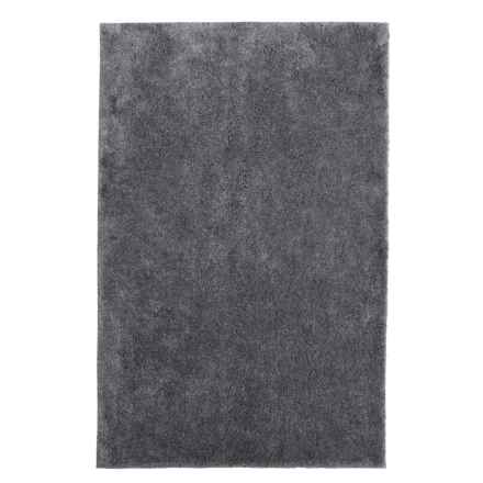 "Christy Drylon® Microfiber Bath Rug - 25x45"" in Grey Shadow - Closeouts"