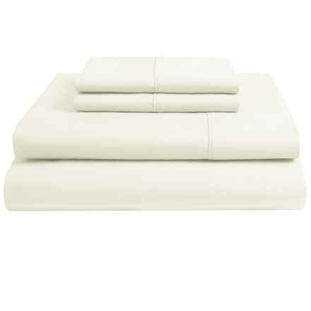 Christy Egyptian Cotton Sheet Set - King, 250 TC in Cream - Closeouts