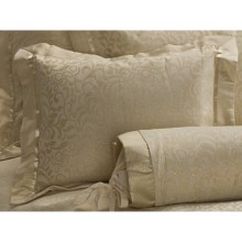 Christy Ghislaine Pillow Sham - Standard in Gold - Closeouts
