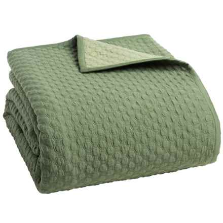 Christy Loops Collection Coverlet - King in Loden - Closeouts