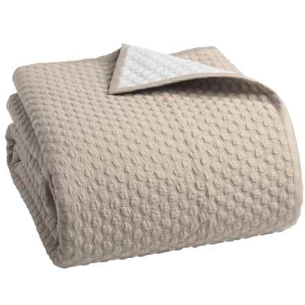 Christy Loops Collection Coverlet - Twin in Linen - Closeouts