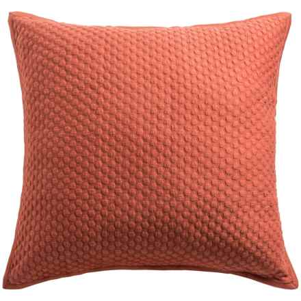 Christy Loops Collection Pillow Sham - Euro in Cinnamon - Closeouts