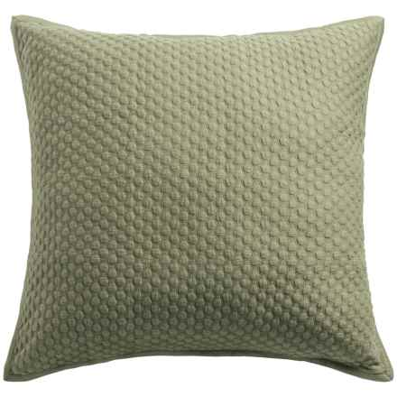Christy Loops Collection Pillow Sham - Euro in Loden - Closeouts