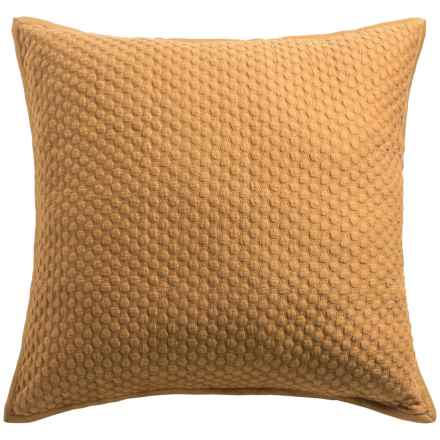 Christy Loops Collection Pillow Sham - Euro in Saffron - Closeouts