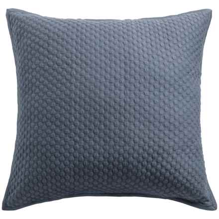 Christy Loops Collection Pillow Sham - Euro in Stormy Blue - Closeouts