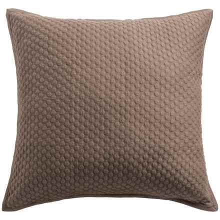 Christy Loops Collection Pillow Sham - Euro in Walnut - Closeouts